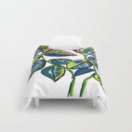 Rubber Tree Plant Comforters
