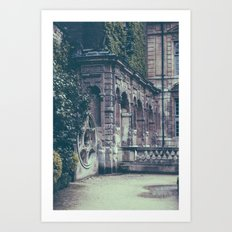 French Garden   Art Print