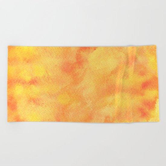 AUTUMN BACKGROUND Beach Towel