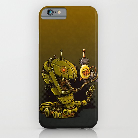 Robot Reptile Raygun iPhone & iPod Case
