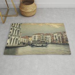 Gondola and gondoliere Rug