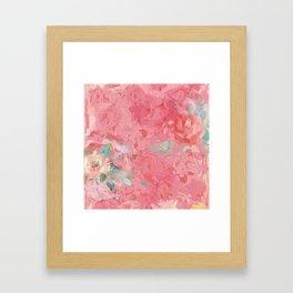 Painted Roses Framed Art Print