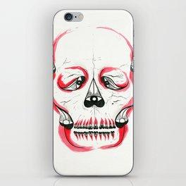 Desert Pea Skull - Soul Discovery iPhone Skin