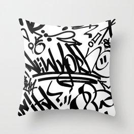 NY Street Throw Pillow