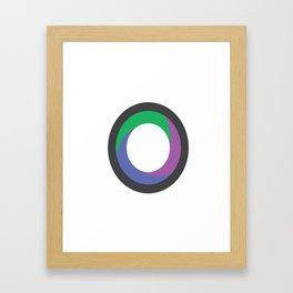 Kenon Lamont Thompson | Journalism & Photography (Logo) Framed Art Print