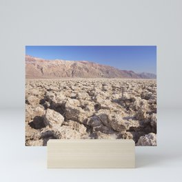 Devil's Golf Course in Death Valley National Park Mini Art Print