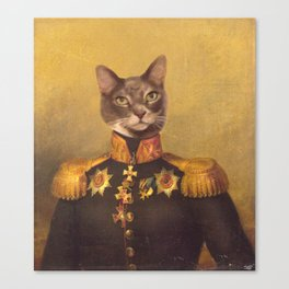 General Bity Bits Portrait Canvas Print