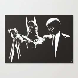 Does he look like a Bat? Canvas Print