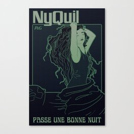 Nyquil Canvas Print