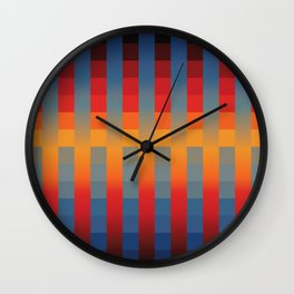 Into the middle Wall Clock