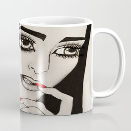Silent Gesture Coffee Mug