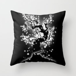 Beauty Cannot Be Interrupted Throw Pillow