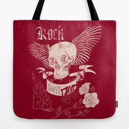 Rock 'n' Roll RED Tote Bag