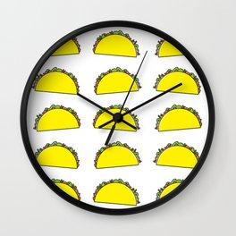 omg tacos! Wall Clock