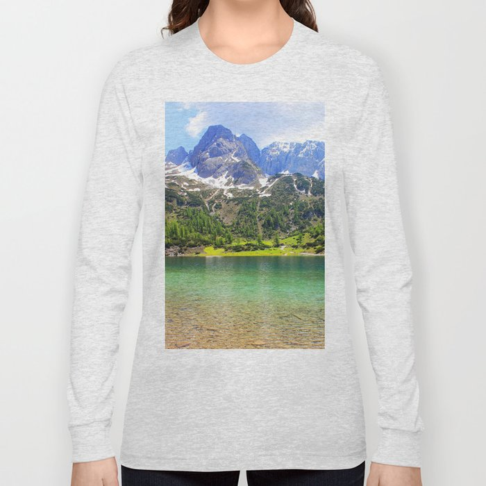 Mountain landscape. Long Sleeve T-shirt