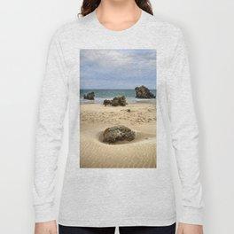 """Levante Wind"" BW. Tarifa beach Long Sleeve T-shirt"