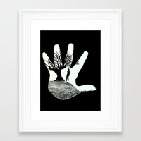 thanksgiving Framed Art Prints featuring Thanksgiving by AbstractAlex