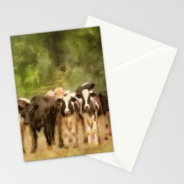 Curious Cows Stationery Cards