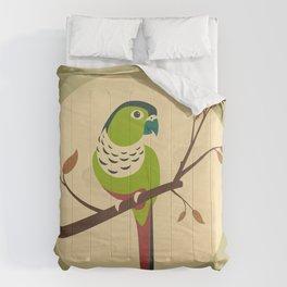 Green Cheek Conure Comforters
