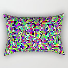 Neon Perforation Rectangular Pillow