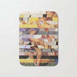 Glitch Pin-Up Redux: Isabella Bath Mat