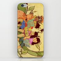 fairy tale iPhone & iPod Skins featuring Fairy Tale by Radical Ink by JP Valderrama