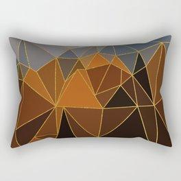 Autumn abstract landscape 4 Rectangular Pillow