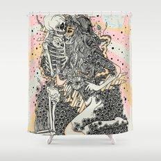 tessellate Shower Curtain
