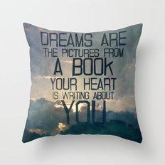 Dreams Art... Throw Pillow
