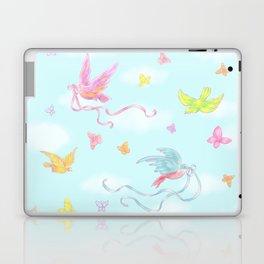 Birds and Butterflies Laptop & iPad Skin