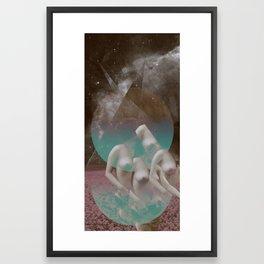 STELLAR WOMAN 003 Framed Art Print