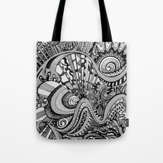 White Knuckled Scream Tote Bag