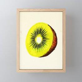 Kiwi Framed Mini Art Print