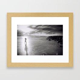 Back To the Ocean Framed Art Print