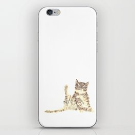 Cheeky Kitty Cat iPhone Skin