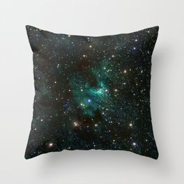 Cave Nebula Throw Pillow