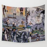 theater Wall Tapestries featuring Theater by NouriHeba