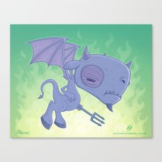 Pitchy Canvas Print