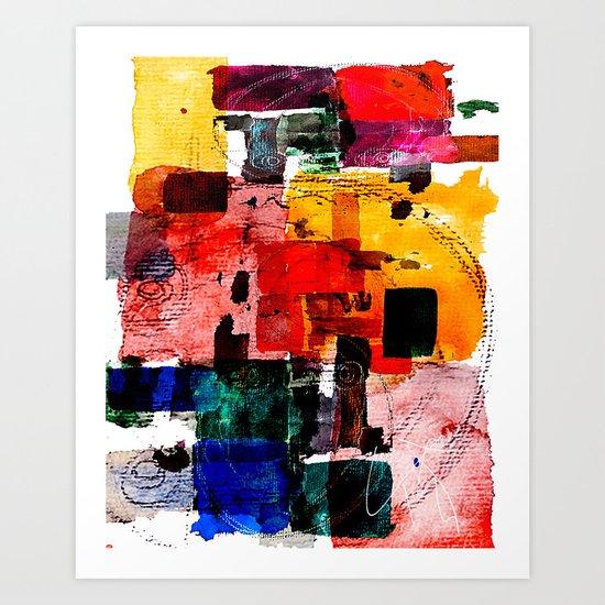 Im Kleingartenverein Art Print