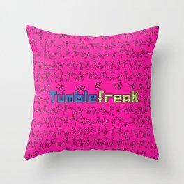 My Tumblefreak Throw Pillow