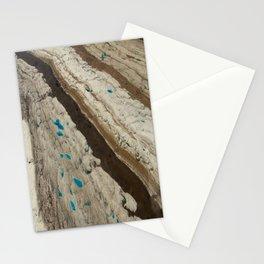 ALASKA III: Ruth Glacier Textures Stationery Cards