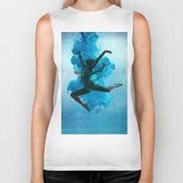 Ballet Dancer in Deep Sea. Biker Tank