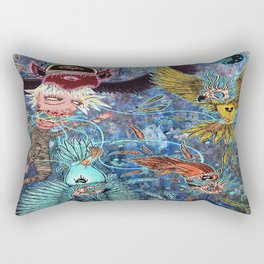 Spirit Migration Rectangular Pillow