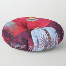 Another earth Floor Pillow