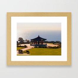 Korean Friendship Bell Framed Art Print