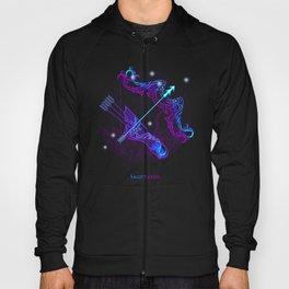 Zodiac neon signs — Sagittarius Hoody