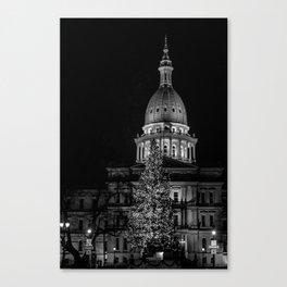The Michigan Capital  Canvas Print