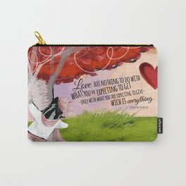 Love I´ll give you everything Carry-All Pouch