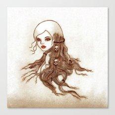 Split-Ends Canvas Print