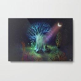 Iridescence Metal Print